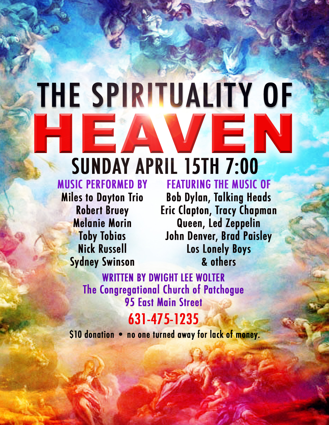 THE SPIRITUALITY OF HEAVEN @ Congregational Church of Patchogue | Patchogue | New York | United States